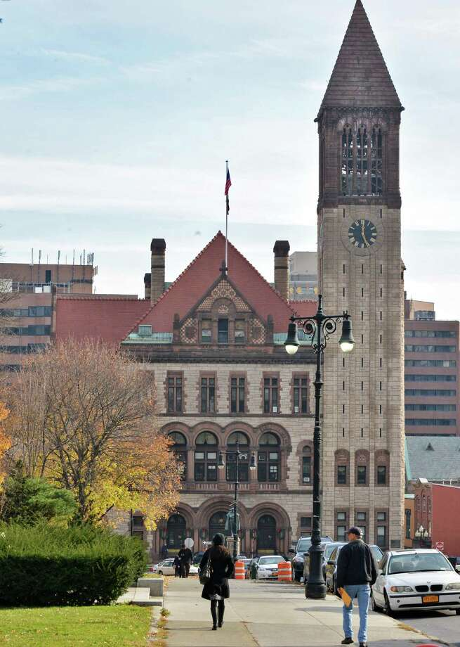 Albany City Hall Tuesday Nov. 20, 2012.  (John Carl D'Annibale / Times Union) Photo: John Carl D'Annibale