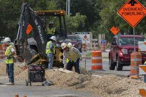 "Road construction on Walnut Avenue is ""taking forever,"" said Shanna Perez, a clerk at the Texas WIC Office."