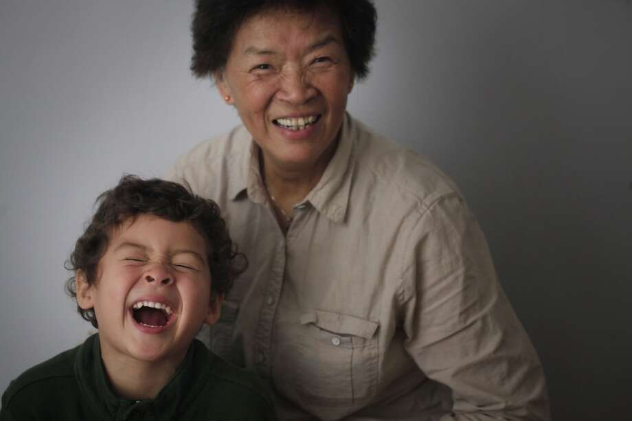 Ben Easter, 4, and his grandmother Maria Kwan have created a bond while riding MUNI around San Francisco together. Photo: Mike Kepka, The Chronicle
