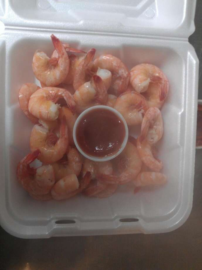 Boiled shrimp at the Sea Ranch Cafe in Port Neches. Photo provided by Brian Landry