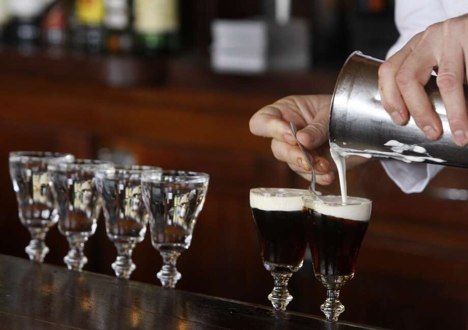 Claim: Irish Coffee originated in San Francisco. Photo: Paul Chinn, The Chronicle