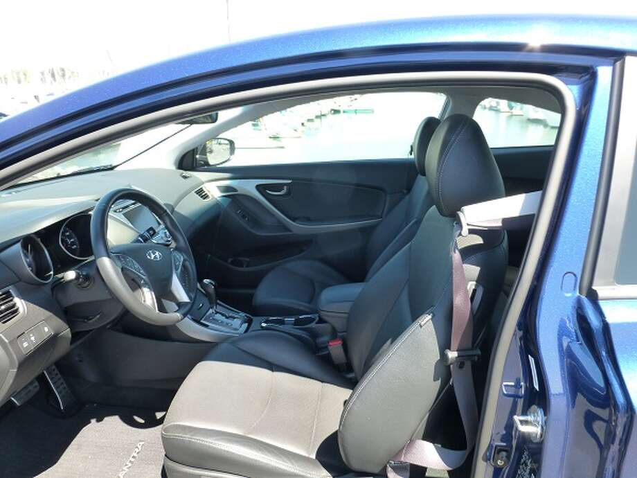 Once inside the car, you'll find that it measures up to Hyundai's overall sensible ideas of automotive interior.