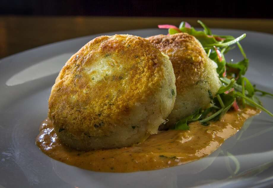 The Salt Cod Cakes at Mikkeller. Photo: John Storey, Special To The Chronicle