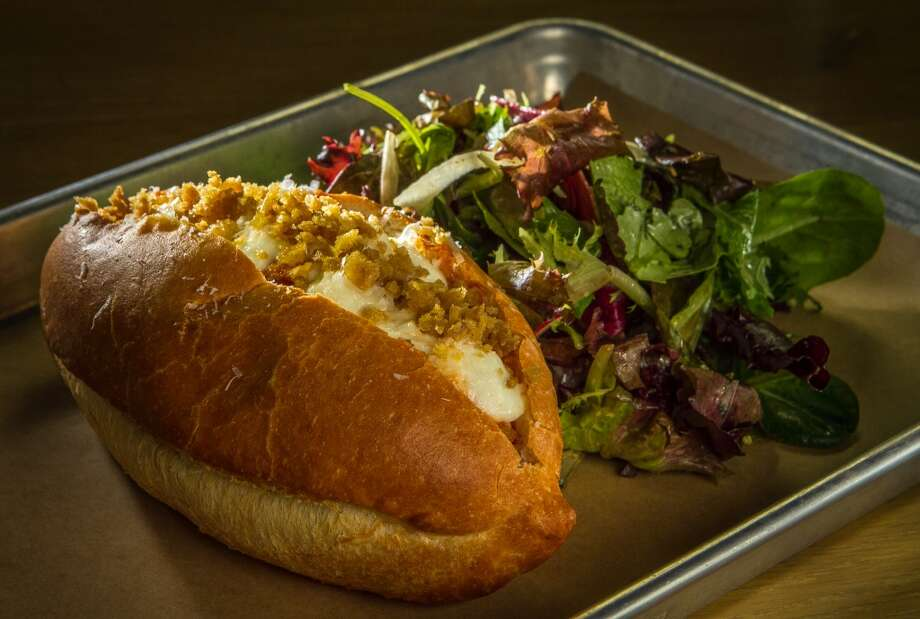 The Chicken Meatball sandwich at Mikkeller. Photo: John Storey, Special To The Chronicle