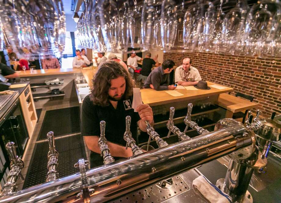 The bar area at Mikkeller. Photo: John Storey, Special To The Chronicle