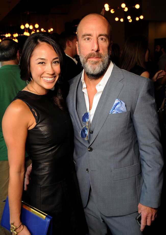 Grant Cooper and his wife Jacy at the Coppe Osteria Opening benefitting Texas Children's Cancer Center Wednesday Sept. 4. Photo: Dave Rossman, For The Houston Chronicle