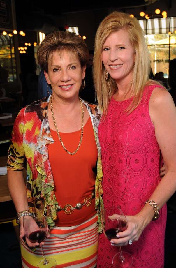 Dr. ZoAnn Dreyer and Lisa McCoy at the Coppe Osteria Opening benefitting Texas Children's Cancer Center. Photo: Dave Rossman, For The Houston Chronicle