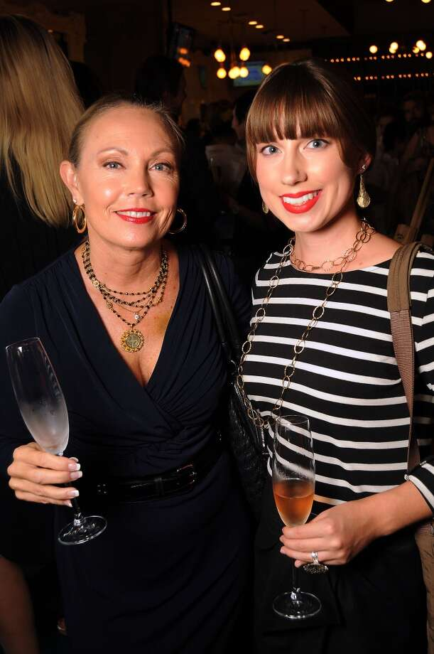 Lisa Petito and Rorie Hill at the Coppe Osteria Opening benefitting Texas Children's Cancer Center. Photo: Dave Rossman, For The Houston Chronicle