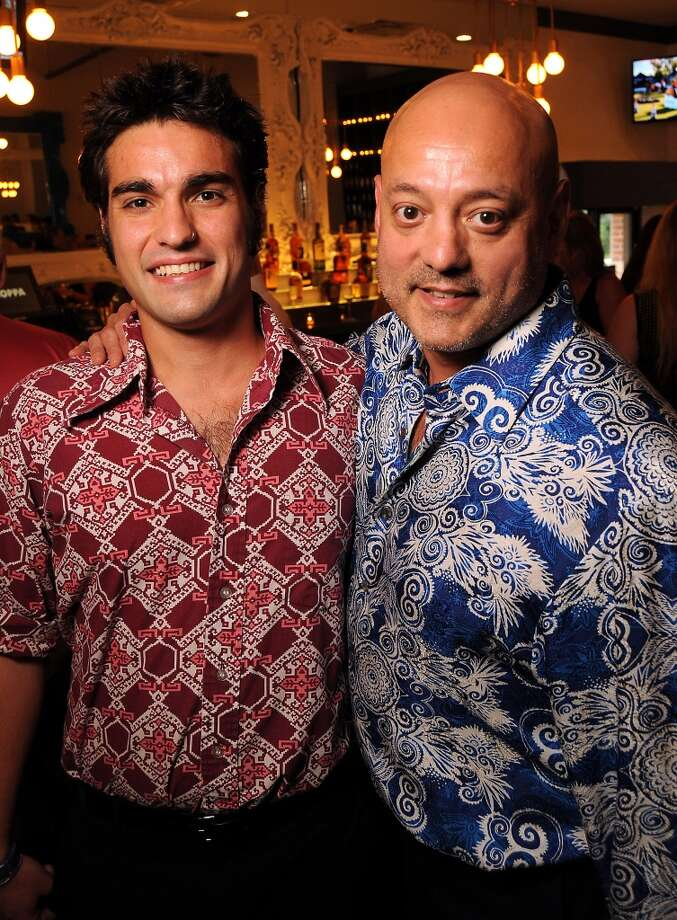 Cian Talavera and Marc Anthony Talavera at the Coppe Osteria Opening benefitting Texas Children's Cancer Center. Photo: Dave Rossman, For The Houston Chronicle