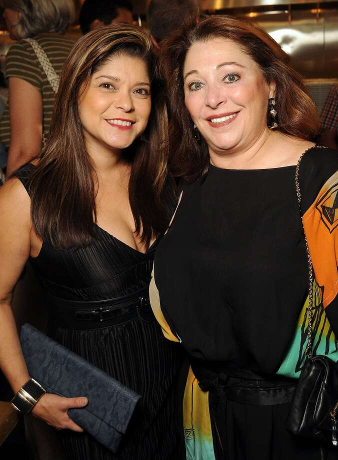 Marcy de Luna and Suzy Simons at the Coppe Osteria Opening benefitting Texas Children's Cancer Center. Photo: Dave Rossman, For The Houston Chronicle