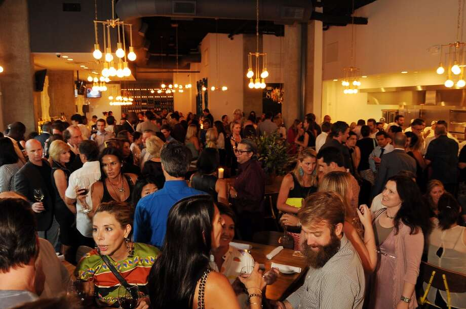 A full house at the Coppe Osteria Opening benefitting Texas Children's Cancer Center. Photo: Dave Rossman, For The Houston Chronicle
