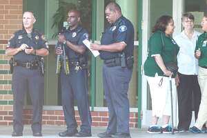 """Spring ISD Police Chief Victor Mitchell describes the morning as """"a smooth, uneventful opening."""" Some 34 officers were on campus, and the district beefed up security at the other two high schools."""