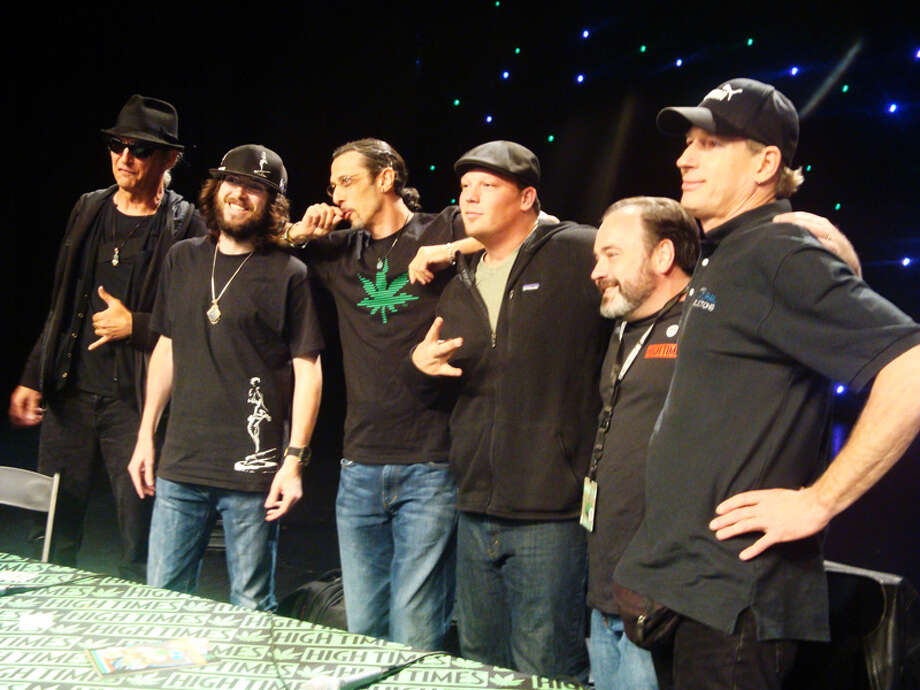 The event featured panels all weekend long, including one with well-known cannabis growers.
