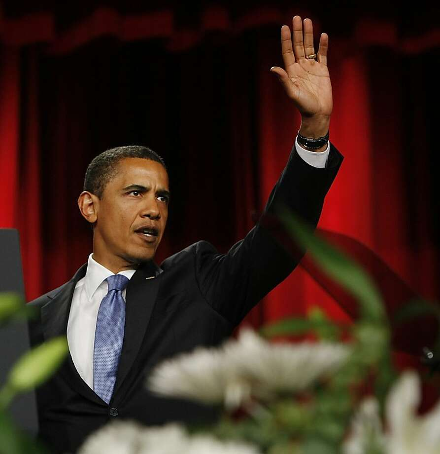 In 2009, President Obama's speech at Cairo University in Egypt was well received and applauded. Photo: Gerald Herbert, AP
