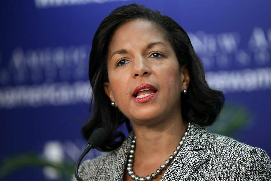 White House national security adviser Susan Rice promotes U.S. military action against the Syrian government. Photo: Chip Somodevilla, Getty Images