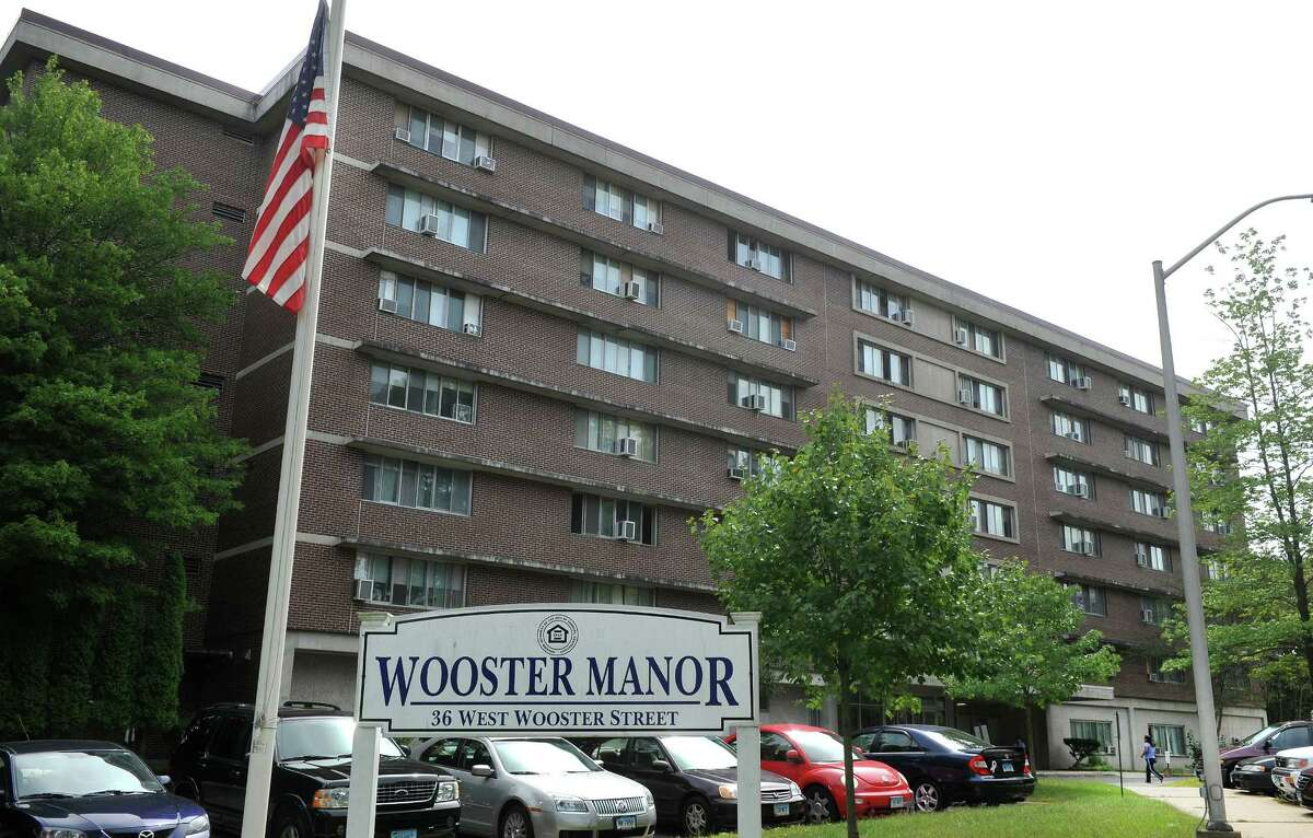 Wooster Manor in Danbury, Conn., is a senior housing complex, shown here Monday, Sept. 9, 2013. Residents are very concerned about a recent home invasion and assault of an 85-year-old woman.
