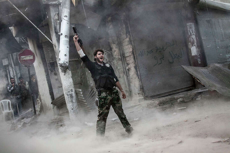 On March 15, 2011, a Syrian civil war began between Ba'ath Party  loyalists and forces seeking to oust President Bashar al-Assad. The  Syrian civil war has killed an estimated 70,000 people and displaced  more than four million. The country, with a prewar population of 22  million, is now carved up into areas controlled by the regime and others  held by rebels. The Syrian civil war began during the Arab Spring  uprisings, which occurred across the Middle East and began in December  of 2010. Photo: Narciso Contreras, ASSOCIATED PRESS / AP2012