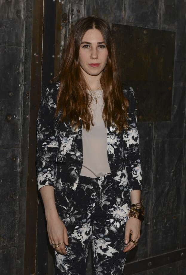 Actress Zosia Mamet poses backstage at the Rebecca Taylor fashion show during Mercedes-Benz Fashion Week Spring 2014 at Center 548 on September 7, 2013 in New York City. Photo: Vivien Killilea, Getty Images