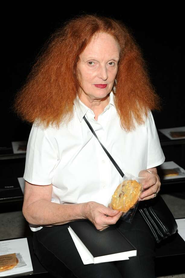 Creative director of Vogue Grace Coddington attends Band Of Outsiders Women's during Mercedes-Benz Fashion Week Spring 2014 on September 8, 2013 in New York City. Photo: Ben Gabbe, Getty Images