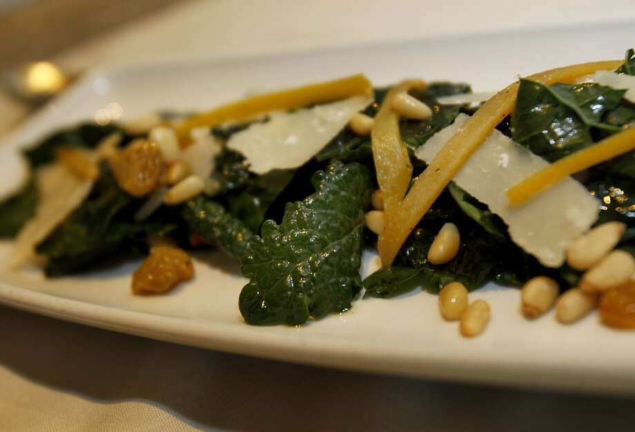 A kale salad. Photo: Brant Ward, The Chronicle