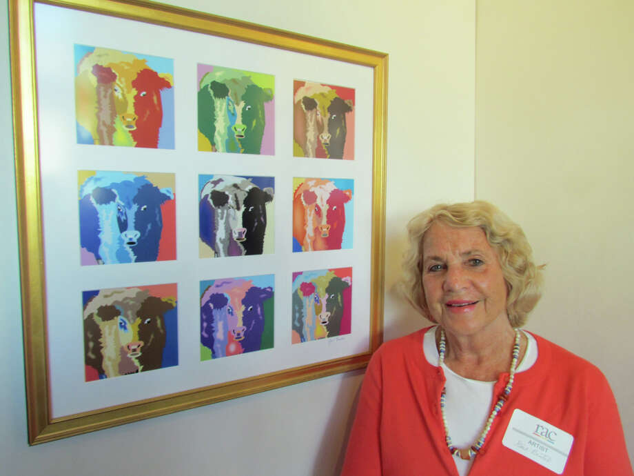 "New Canaan artist Gail Beutel won first place in computer art for her ""Bessie-Bess"" at the Rowayton Arts Center's ""Beyond Brushwork"" exhibition. Photo: Contributed"