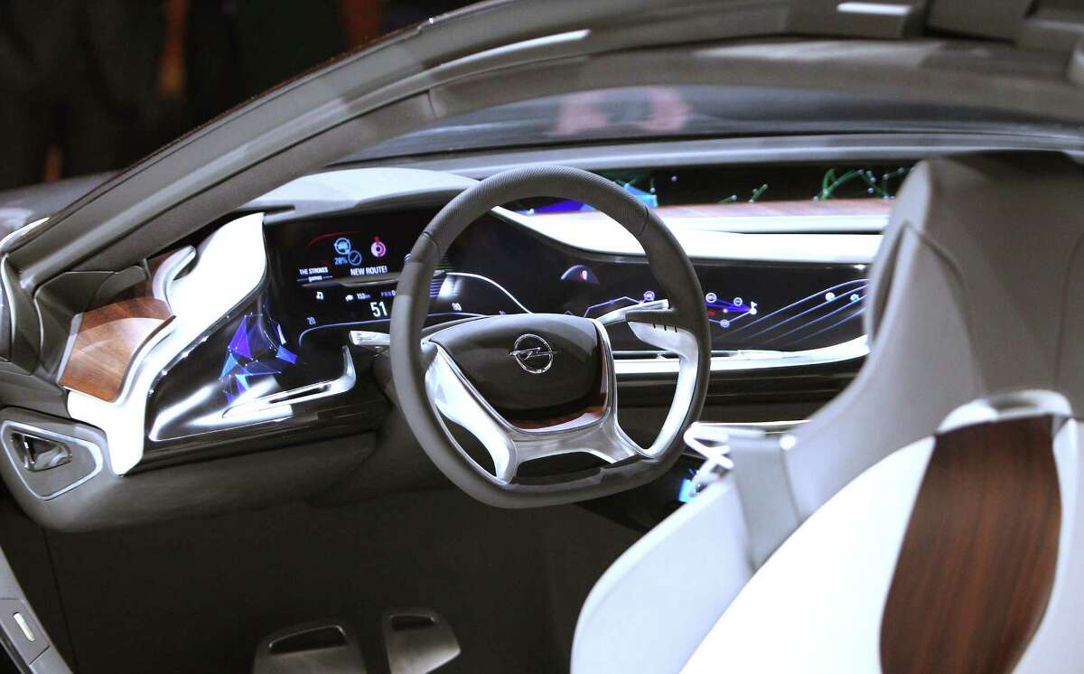 The new Opel Monza Concept is presented at the IAA auto show in Frankfurt, Germany, on Sept. 9, 2013.