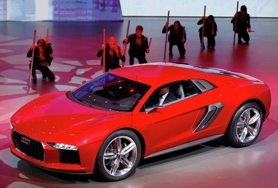 The new Audi Nanuk Quatro is presented during a preview by the Volkswagen Group prior to the 65th Frankfurt Auto Show in Frankfurt, Germany, Monday, Sept. 9, 2013. Photo: AP
