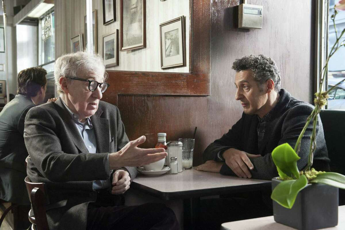 """Woody Allen (left) and John Turturro star in """"Fading Gigolo,"""" a film being showcased at the Toronto International Film Festival."""