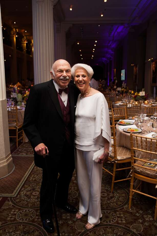 Ed and Lorraine Wulfe attend the Houston Symphony gala at the Corinthian. Photo: Michael Starghill, Jr.