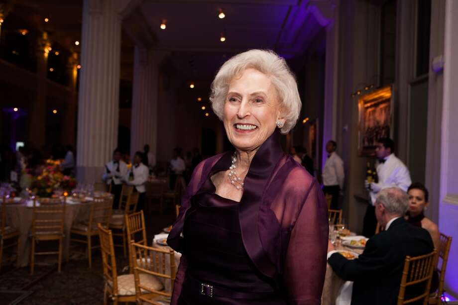 Jan Barrow was honored at the Houston Symphony gala. Photo: Michael Starghill, Jr.