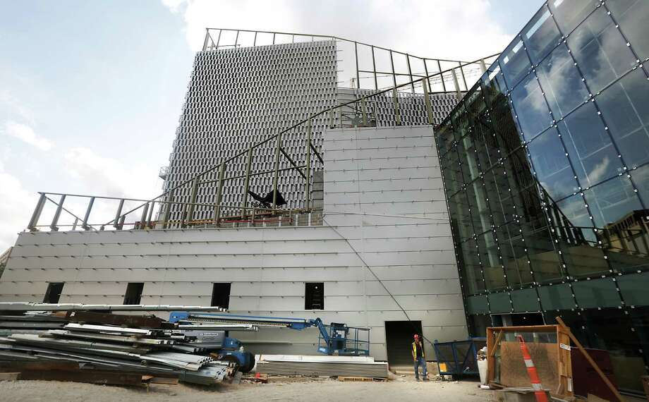 Construction continues at the Tobin Center For the Performing Arts, on Friday, Sept. 6, 2013. Photo: Bob Owen, San Antonio Express-News / © 2012 San Antonio Express-News