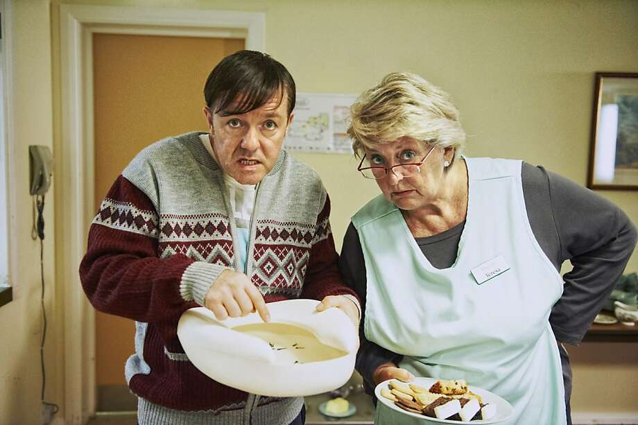"""Derek: Season 2""– Ricky Gervais created and stars in this heartwarming comedy-drama as Derek, a loyal nursing home caretaker who sees only the good in his quirky co-workers as they struggle against prejudice and shrinking budgets to care for their elderly residents. Available Now!Related: Check out the full list of Netflix Original Series available to stream Photo: Ray Burmiston, Netflix"