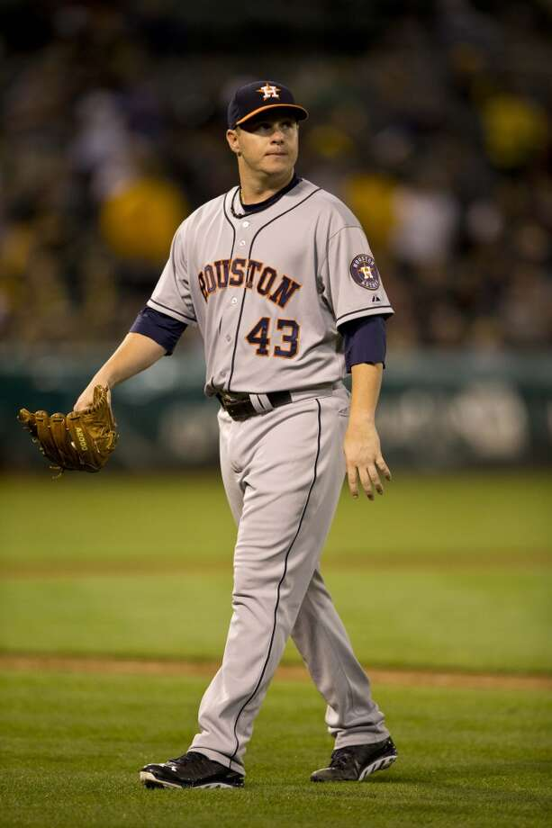 Sept. 5: Astros 3, A's 2  Brad Peacock lasted seven solid innings as the Astros took the series-opener in Oakland.  Record: 47-93. Photo: Jason O. Watson, Getty Images