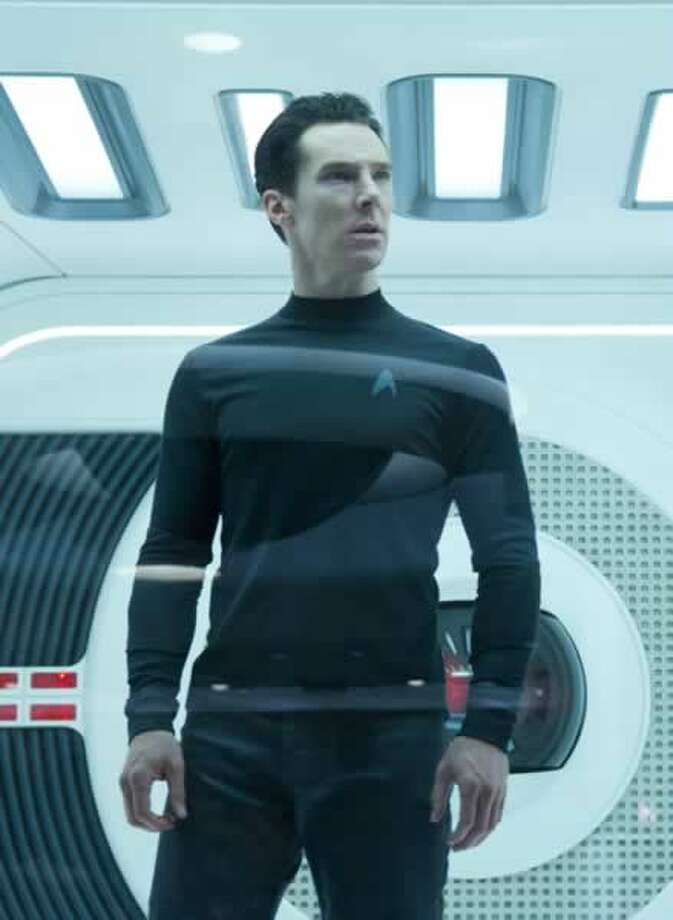 Khan (Benedict Cumberbatch). Photo: Paramount Pictures, 2013