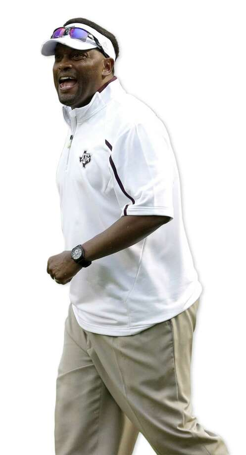 Kevin Sumlin will be leading A&M against his native state — Alabama — on Saturday. Photo: David J. Phillip / Associated Press