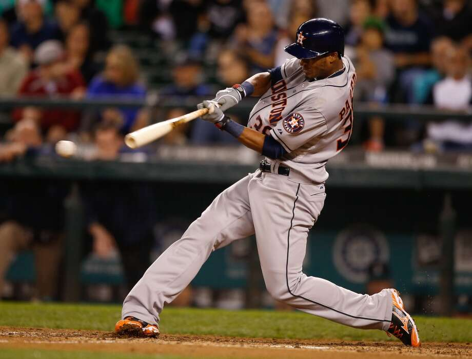 Sept. 9: Astros 6, Mariners 4  Jimmy Paredes came through in the ninth inning to tie the game and Jonathan Villar broke the tie in the next at bat with a two-run single giving the Astros the lead for good.  Record: 48-96. Photo: Otto Greule Jr, Getty Images
