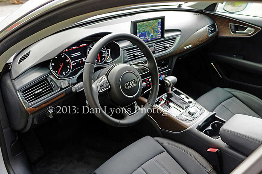 2014 Audi A7 TDI quattro (photo by Dan Lyons)