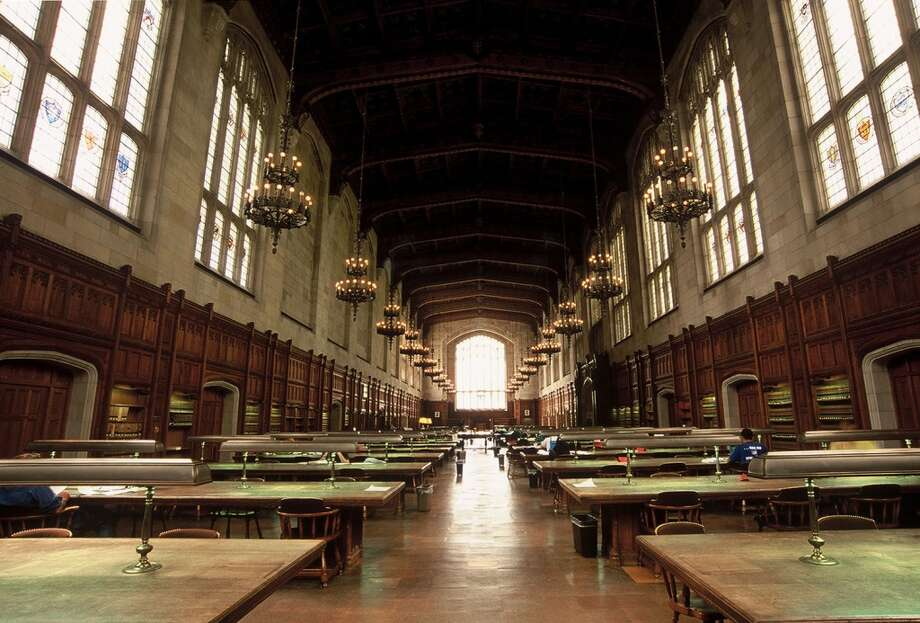 6. University of MichiganTotal cost per year (in-state): $24,186Total cost per year (out-of-state): $51,436Average debt at graduation: $27,815Credit:Kiplinger Photo: Uschools University Images, Getty Images