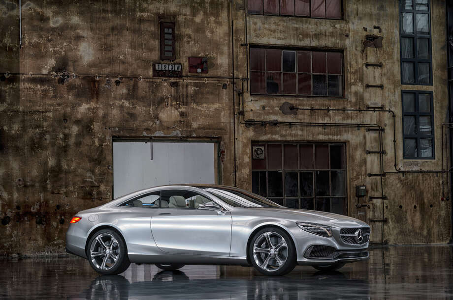 Mercedes is showing off this dazzling new concept that it's already calling a sneak peek into its next top-of-the-line model. Photo: Mercedes /  2013 Mercedes-Benz USA