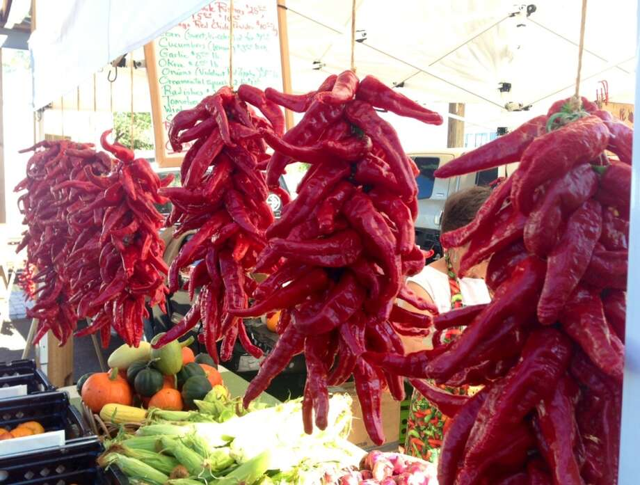 Chiles at the Santa Fe Farmers Market