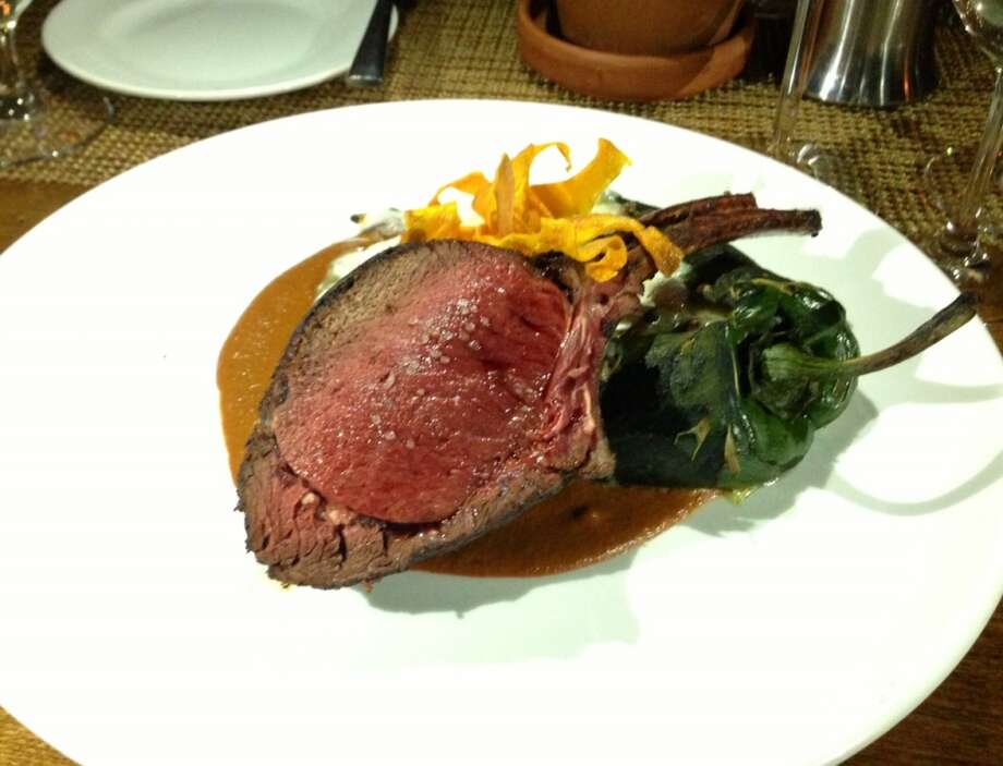 Venison with stuffed poblano at Luminaria