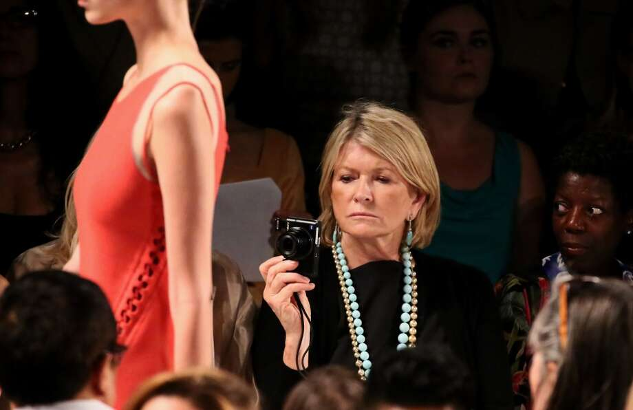 NEW YORK, NY - SEPTEMBER 08:  Martha Stewart attends the Ralph Rucci fashion show during Mercedes-Benz Fashion Week Spring 2014 at The Theatre at Lincoln Center on September 8, 2013 in New York City.  (Photo by Astrid Stawiarz/Getty Images for Mercedes-Benz Fashion Week Spring 2014) Photo: Astrid Stawiarz, (Credit Too Long, See Caption)