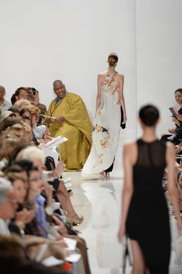 NEW YORK, NY - SEPTEMBER 08:   Fashion Editor Andre Leon Talley attends the Ralph Rucci fashion show during Day 4 of Mercedes-Benz Fashion Week Spring 2014 at Lincoln Center for the Performing Arts on September 8, 2013 in New York City.  (Photo by Andrew H. Walker/Getty Images for Mercedes-Benz Fashion Week Spring 2014) Photo: Andrew H. Walker, Getty Images
