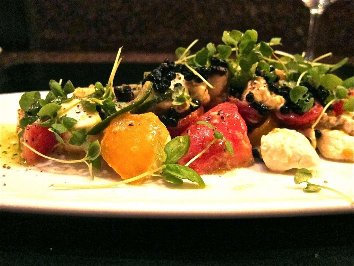 The panzanella salad at Vic & Anthony.