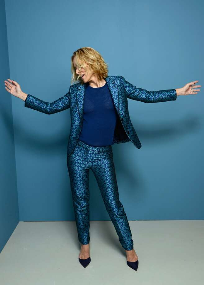 Actress Maria Bello of 'Prisoners' poses at the Guess Portrait Studio during 2013 Toronto International Film Festival on September 7, 2013 in Toronto, Canada. Photo: Larry Busacca, Getty Images