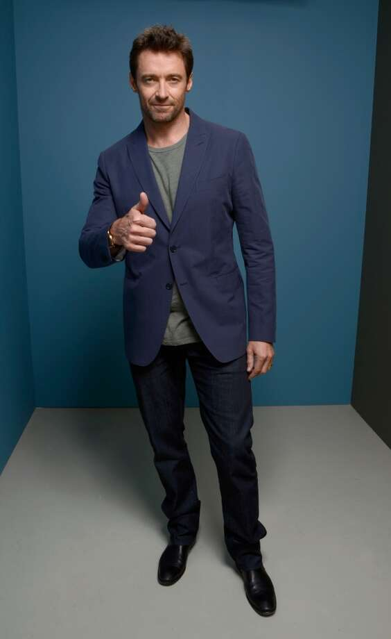 Actor Hugh Jackman of 'Prisoners' poses at the Guess Portrait Studio during 2013 Toronto International Film Festival on September 7, 2013 in Toronto, Canada. Photo: Larry Busacca, Getty Images