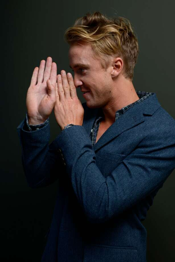 Actor Tom Felton of 'Therese' poses at the Guess Portrait Studio during 2013 Toronto International Film Festival on September 7, 2013 in Toronto, Canada. Photo: Larry Busacca, Getty Images