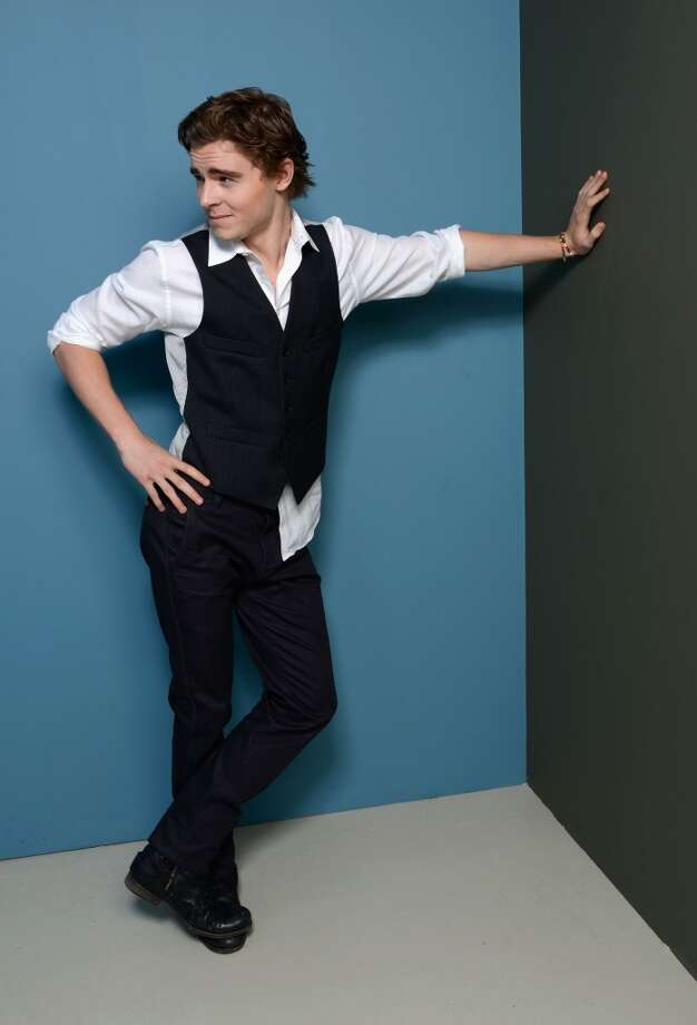 Actor Callan McAuliffe of 'Beneath The Harvest Sky' poses at the Guess Portrait Studio during 2013 Toronto International Film Festival on September 8, 2013 in Toronto, Canada. Photo: Larry Busacca, Getty Images