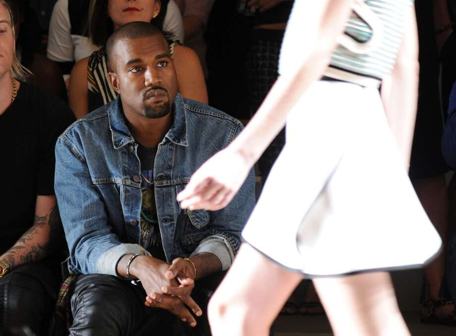 Kanye West attends the Louise Goldin fashion show during MADE Fashion Week Spring 2014 at Milk Studios on September 7, 2013 in New York City. Photo: Ilya S. Savenok, Getty Images