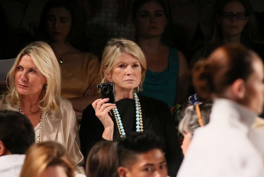 Martha Stewart (C) attends the Ralph Rucci fashion show during Mercedes-Benz Fashion Week Spring 2014 at The Theatre at Lincoln Center on September 8, 2013 in New York City. Photo: Astrid Stawiarz, Getty Images For Mercedes-Benz Fashion Week Spring 2014